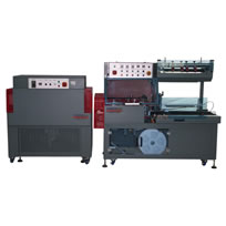 Automatic L-Bar Sealer and shrink tunnel